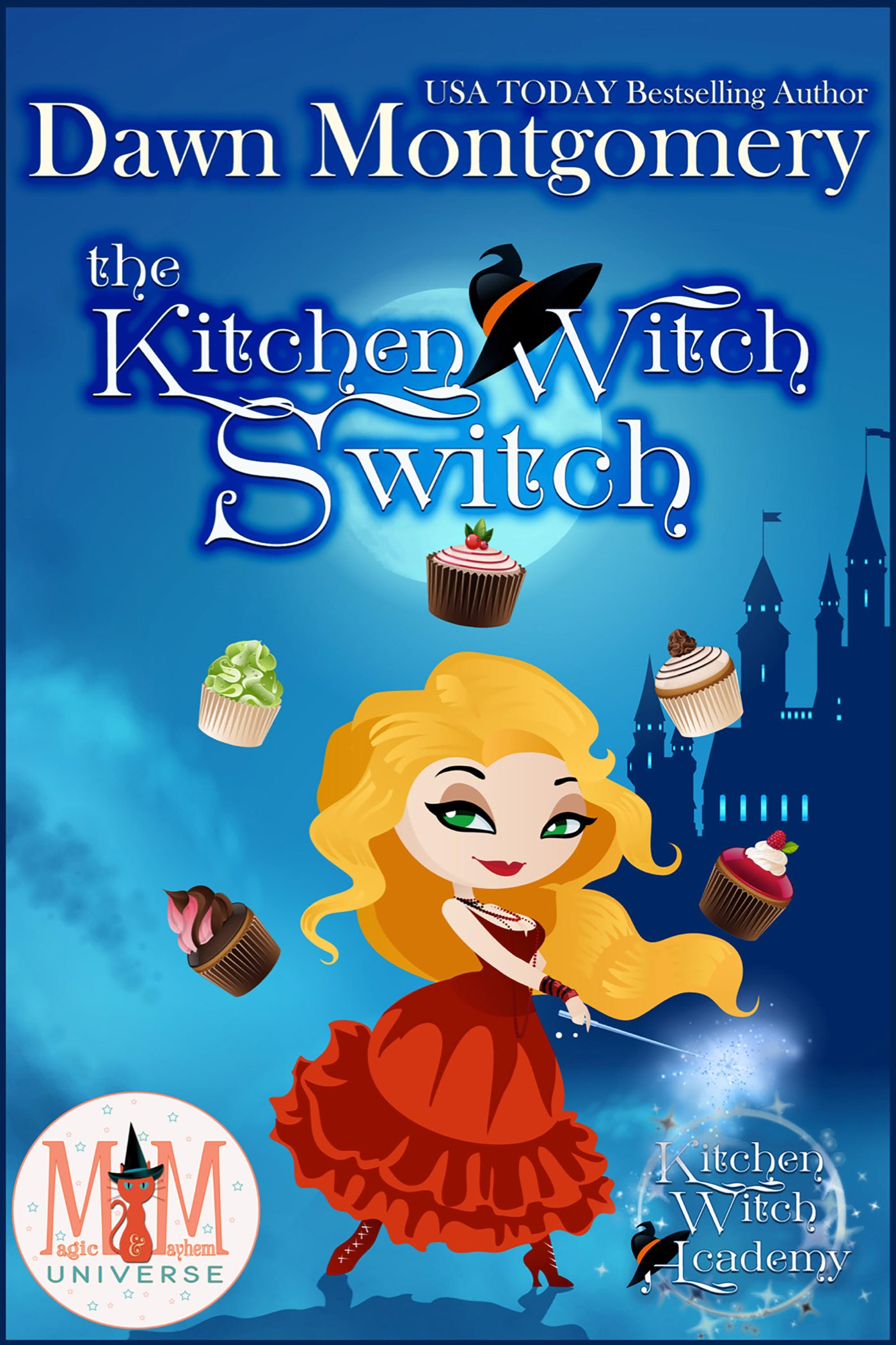 The Kitchen Witch Switch Book Cover Art